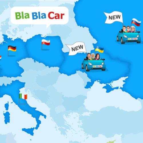 Europas Mitfahrmarktführer expandiert nach Russland und Ukraine