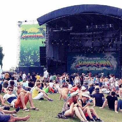 Mitfahrgelegenheit zum Summerjam Festival