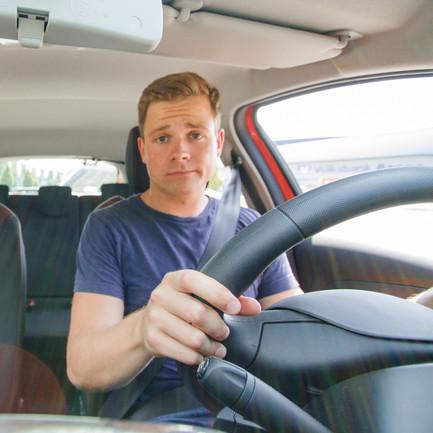 condutor sozinho blablacar
