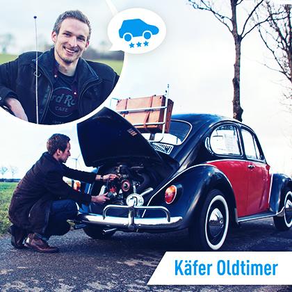 Mitfahr-Auto des Monats: VW Käfer Oldtimer