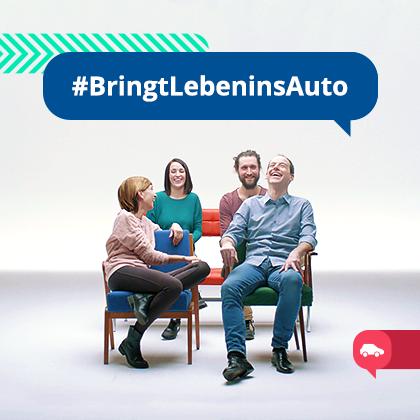 """""""Bringt Leben ins Auto"""" – der neue BlaBlaCar TV-Spot"""