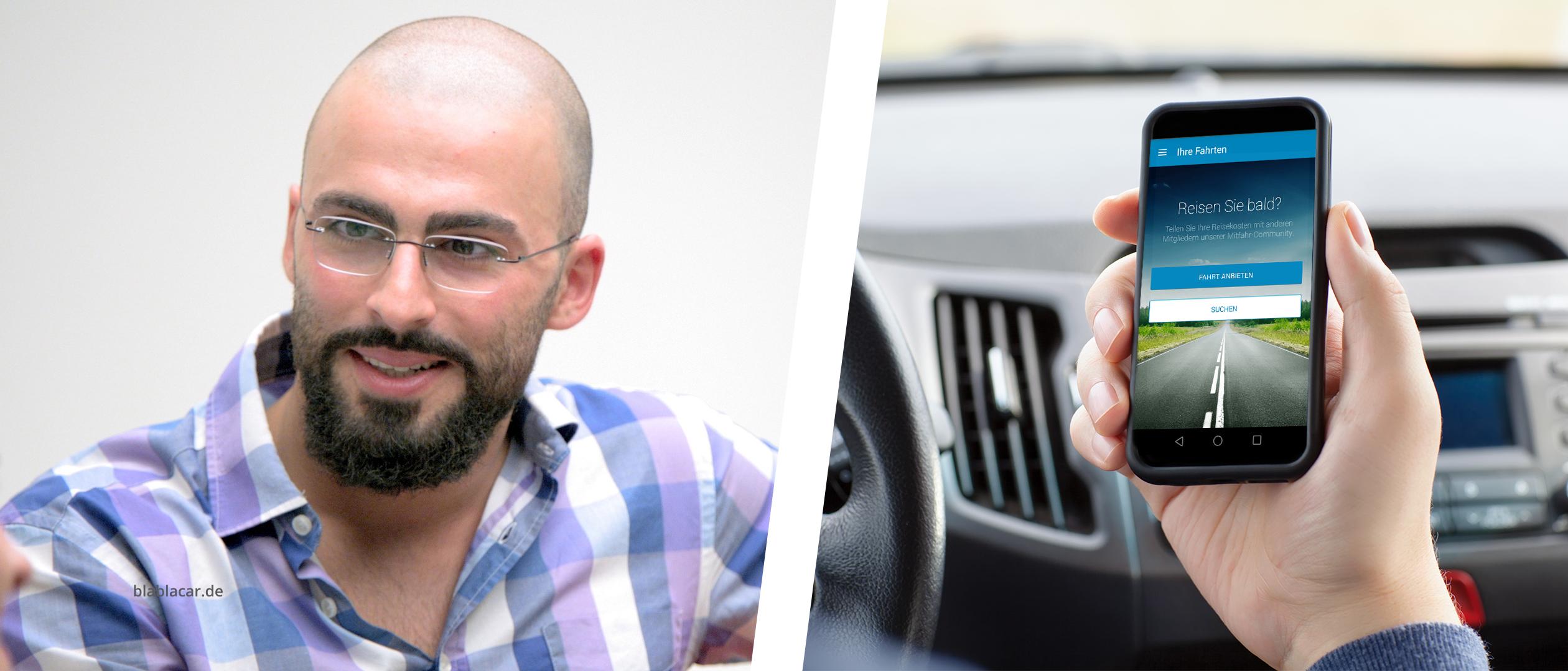 BlaBlaCar App schnell Auto füllen