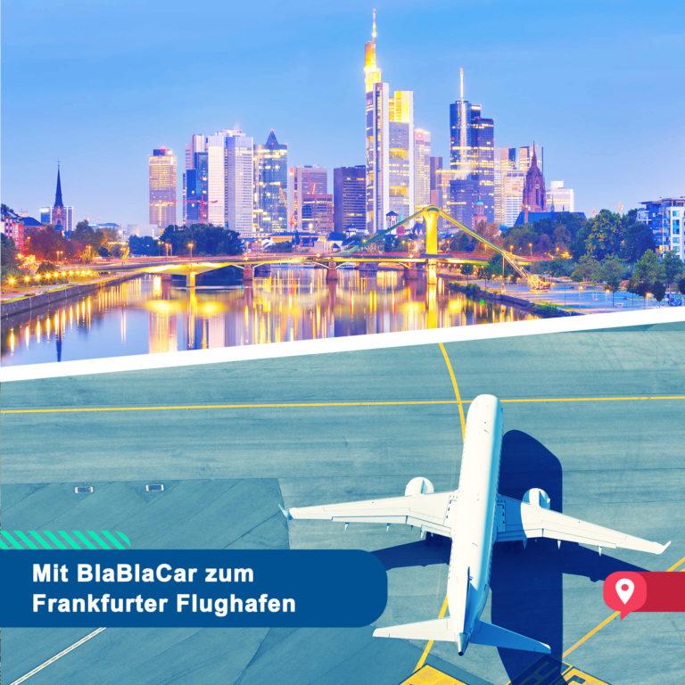 Eine Mitfahrt vor dem Abflug – Mit BlaBlaCar zum Flughafen Frankfurt