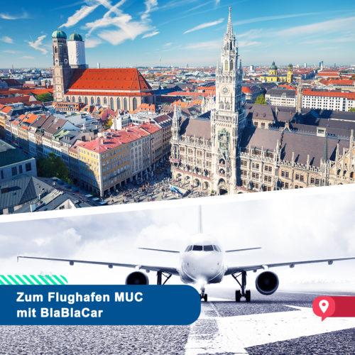 Mit BlaBlaCar zum Airport München – Mitfahren vor dem Abflug