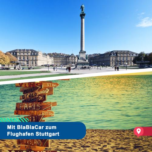 Ob Urlaub oder Business – auf BlaBlaCar wartet der passende Flughafentransfer nach Stuttgart