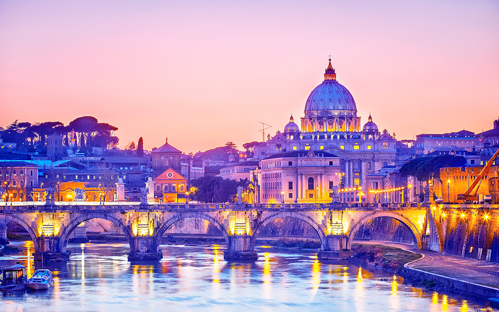 Sehenswürdigkeiten in Rom - St Peter Kathedrale