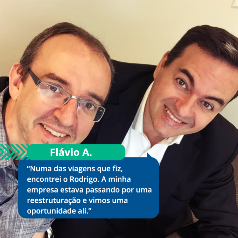 Conheça o Flávio, que encontrou um parceiro de trabalho através da BlaBlaCar