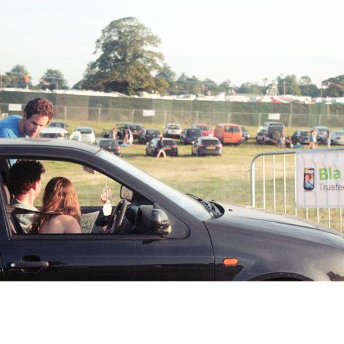 Exklusive BlaBlaCar-Parkplätze auf Festivals