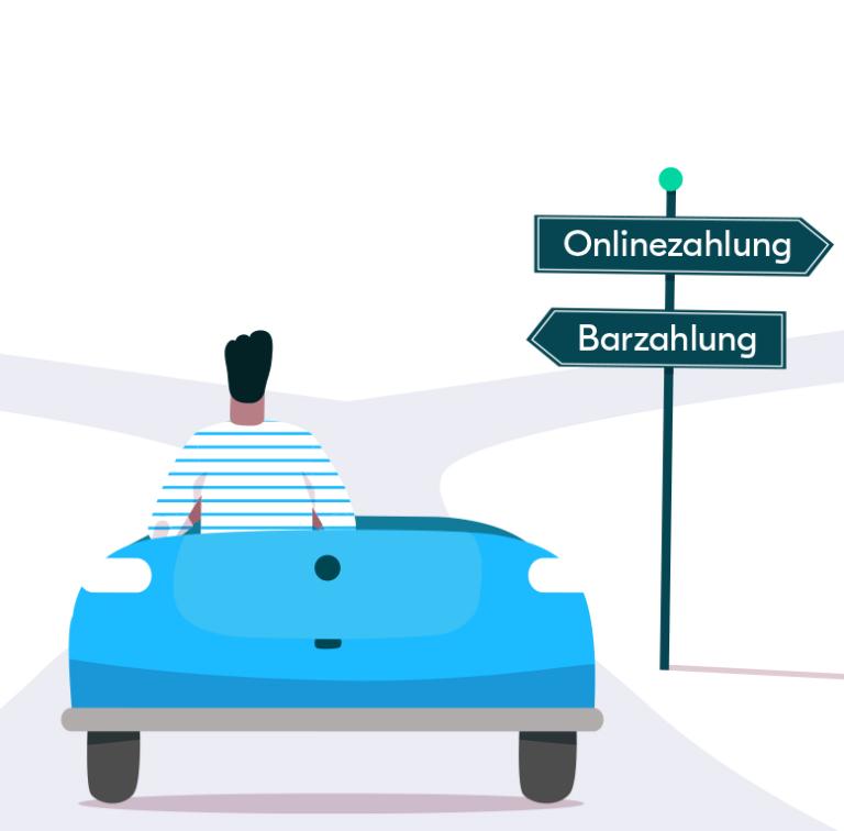 Online oder Bar? Eine Entscheidungshilfe für Fahrer
