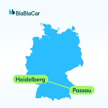 Die schnellste Verbindung von Unistadt zu Unistadt