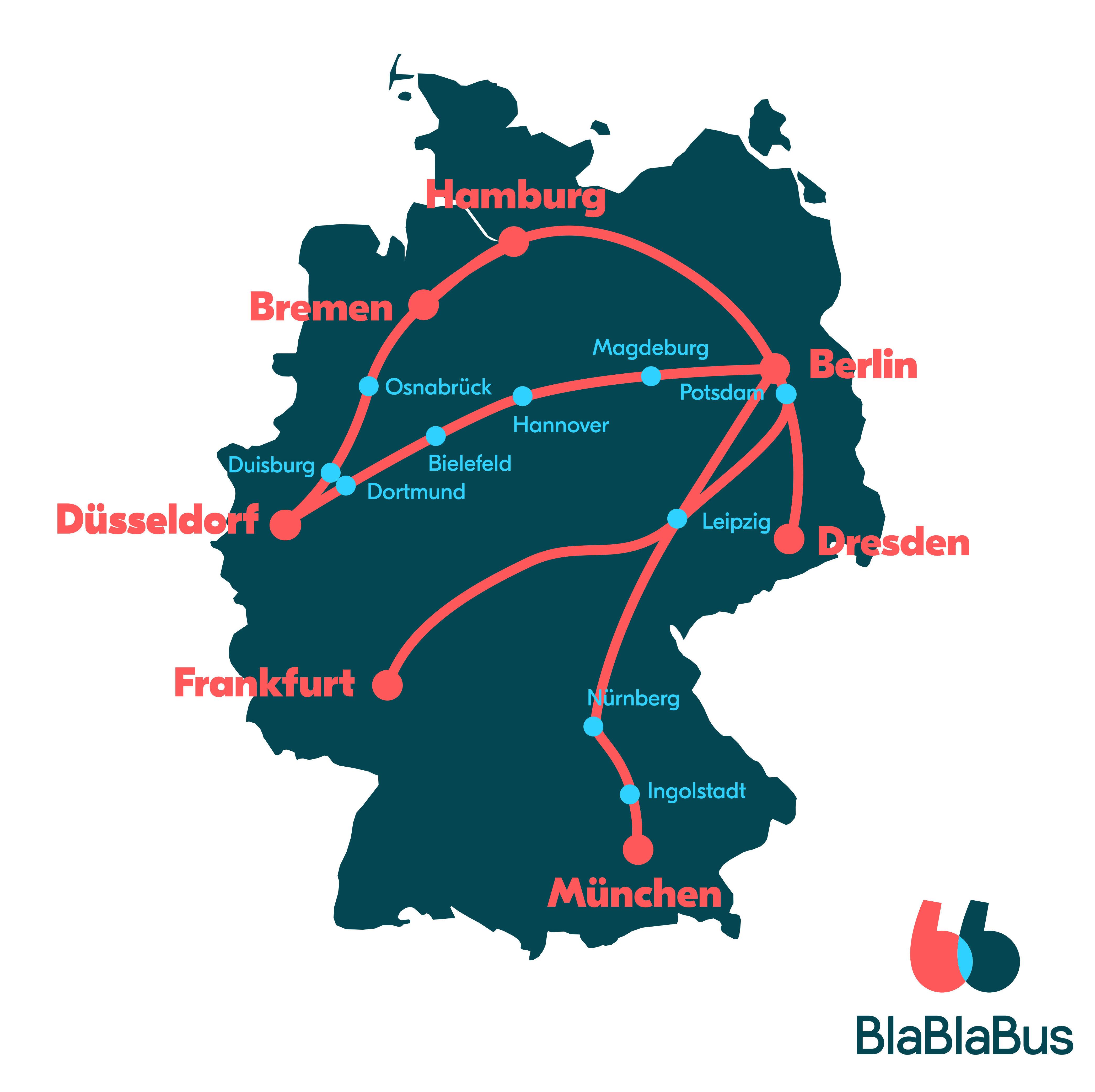 BlaBlaCar bringt BlaBlaBus auf die Straße