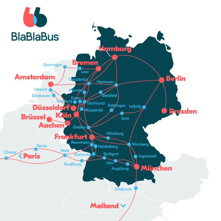 Volle Fahrt voraus: BlaBlaBus bringt dich nun an noch mehr Ziele!
