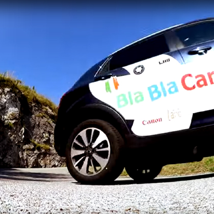 BlaBlaCar Road Movie, online e on the road!