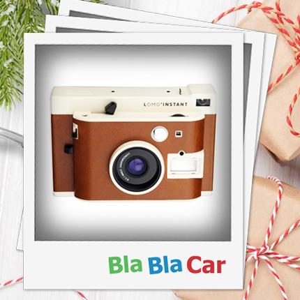 Camera winnen met het kerstspel van BlaBlaCar