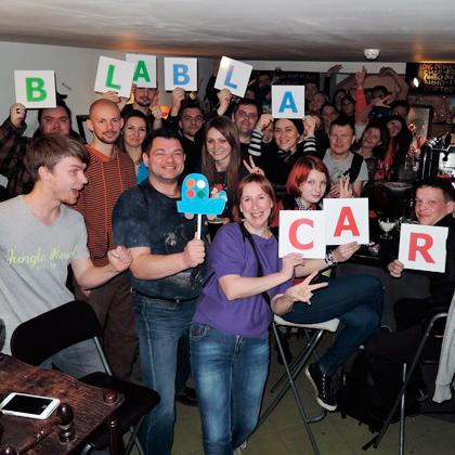 Вечеринка BlaBlaCar в Санкт-Петербурге
