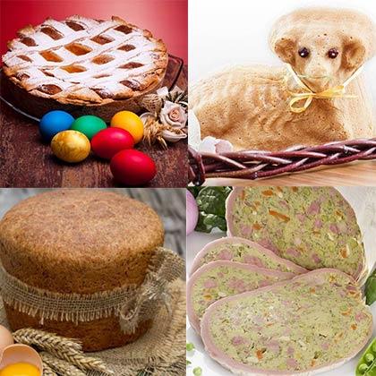 Luoghi e sapori d'Italia: la Pasqua e i piatti tipici
