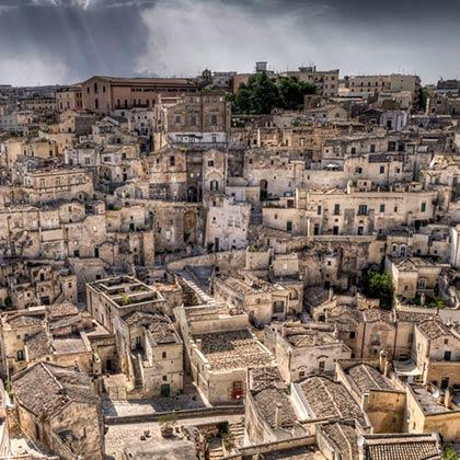 Una visita alle città: Tesori d'Italia – Matera