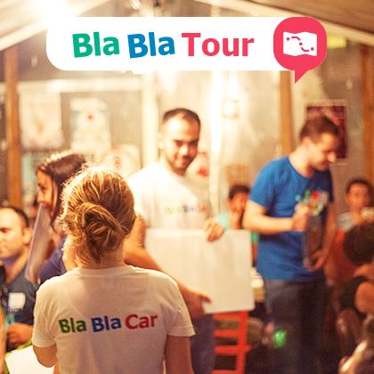 BlaBlaTour in de Benelux!