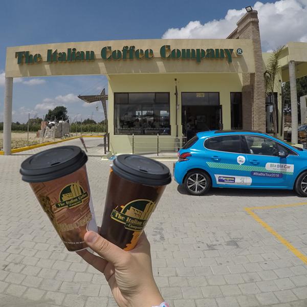 Los viajes y el café son para compartirse