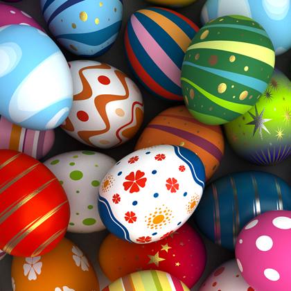 Husveti szines tojasok
