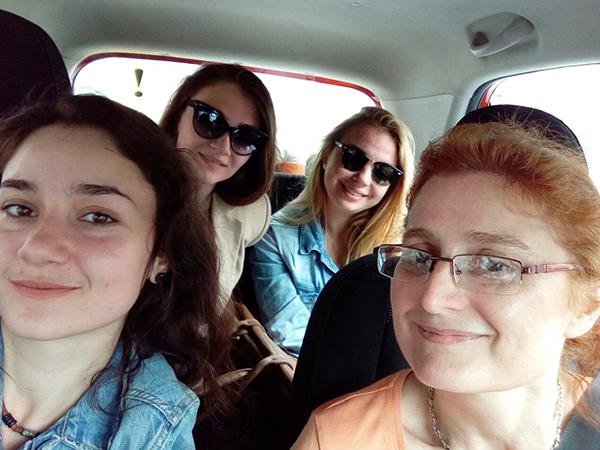 поездки на машине с детьми
