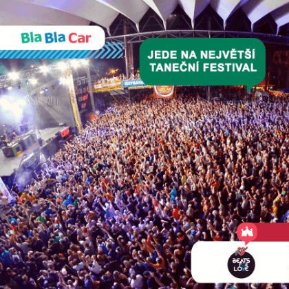 Zahaj letní sezónu s BlaBlaCarem na Beats for Love Pepino!