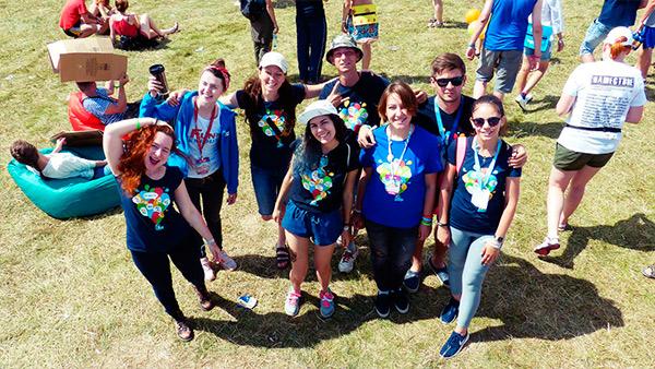 Волонтеры BlaBlaCar на фестивалях