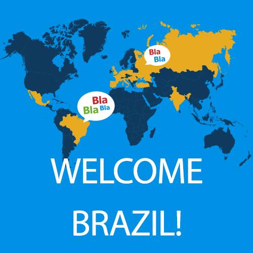 Brazil, welcome to the BlaBla community!