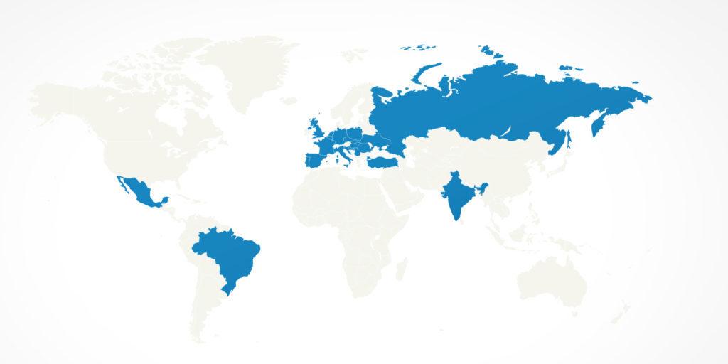 BlaBlaCar in 22 landen