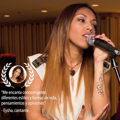 eysha cantante de La Voz