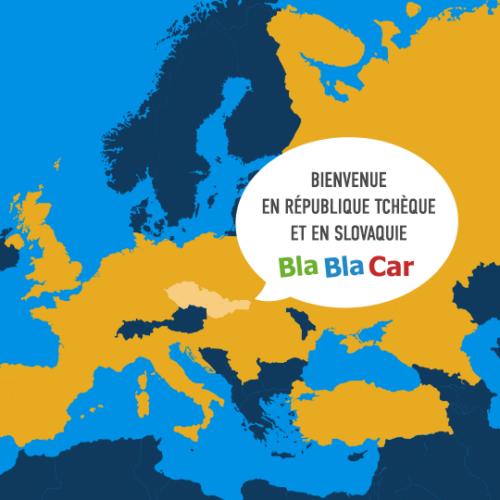 BlaBlaCar arrive en Slovaquie et République Tchèque !