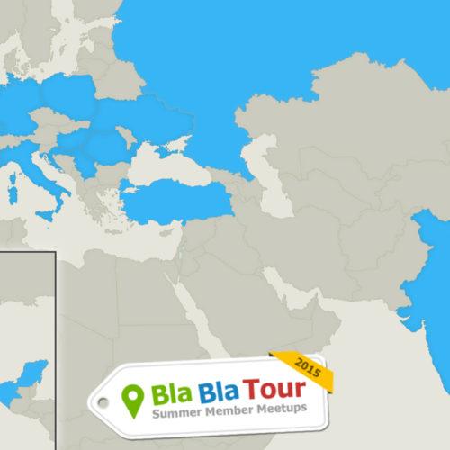 Revivez le BlaBlaTour 2015