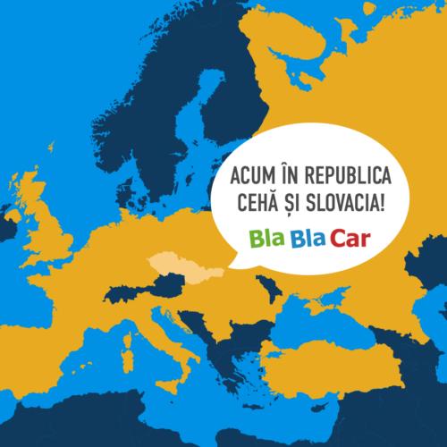Czech it out… Încă două țări ce folosesc BlaBlaCar!