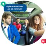Opłata serwisowa w BlaBlaCar już od złotówki!