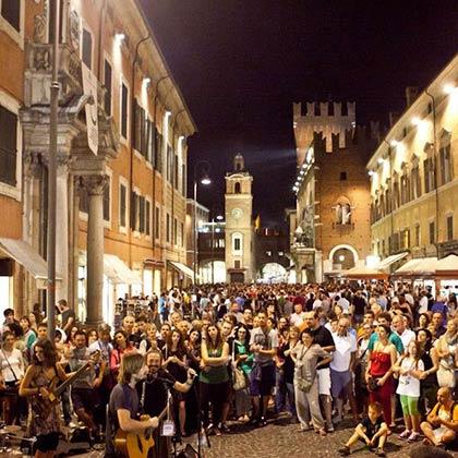Eventi e programma del Ferrara Buskers Festival 2016