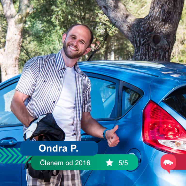 Můj první BlaBlaCar: Ondra P.