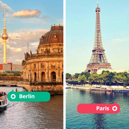 Découvrez les bons plans de nos covoitureurs pour découvrir Paris et Berlin !