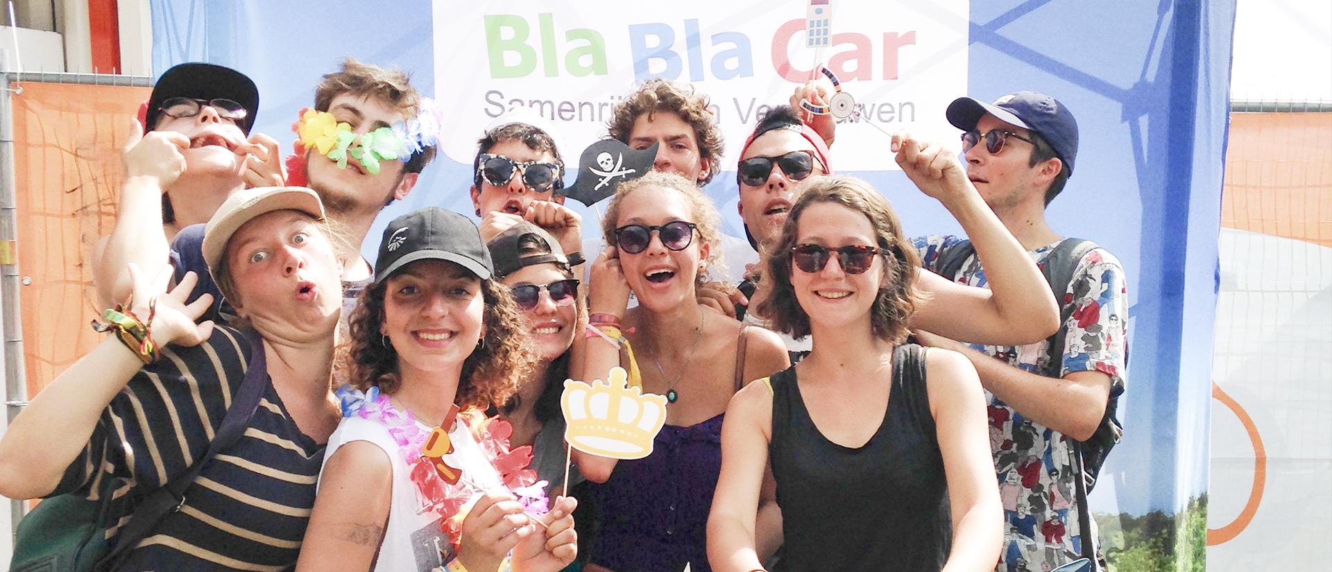 BlaBlaCar @ Dour Festival