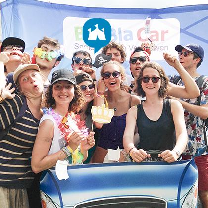 Dour - Speciale Festival Parking voor onze BlaBlaCar leden
