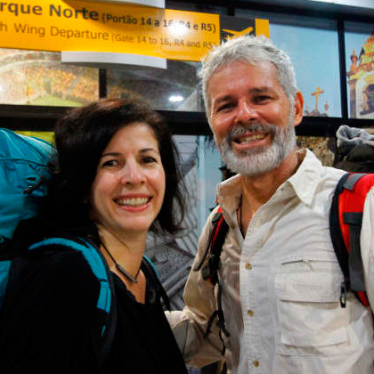 Brazilian couple travels the world with the sharing economy