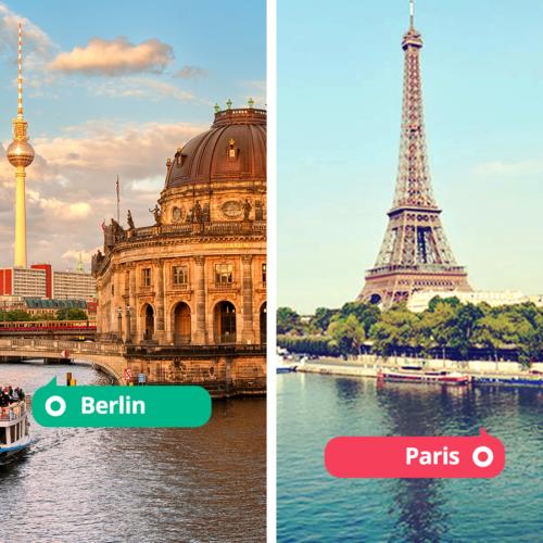 Europese stedentrip? Unieke tips voor Berlijn en Parijs