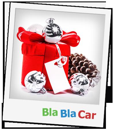 BlaBlaCar fête Noël