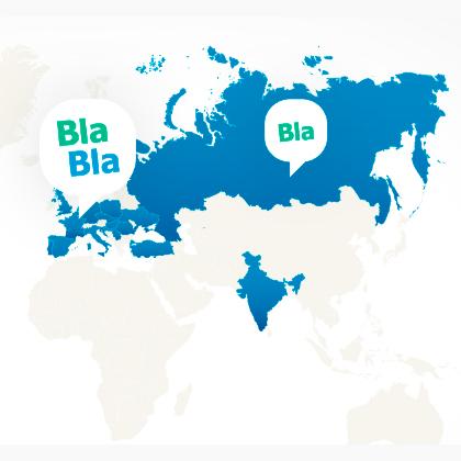 BlaBlaCar в Европе: теперь и в Венгрии, Румынии, Хорватии и Сербии!