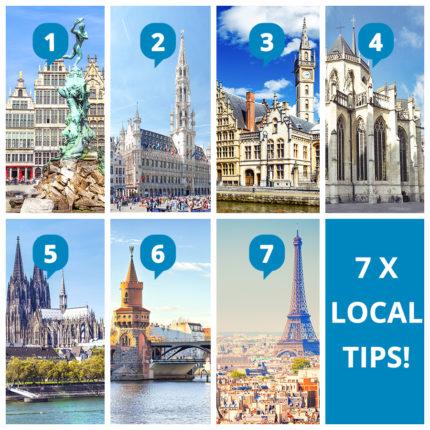 BlaBlaCar tips voor Europese Studentensteden