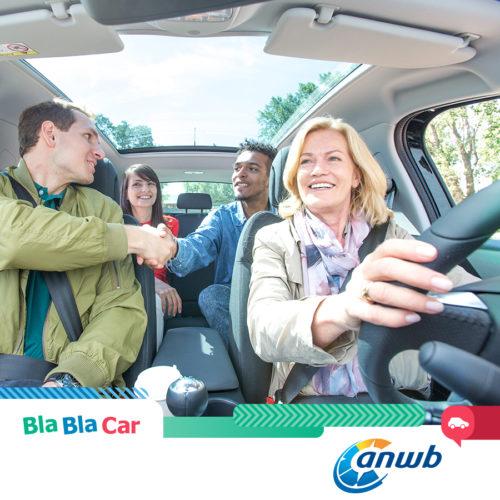 Intensivering samenwerking BlaBlaCar en ANWB