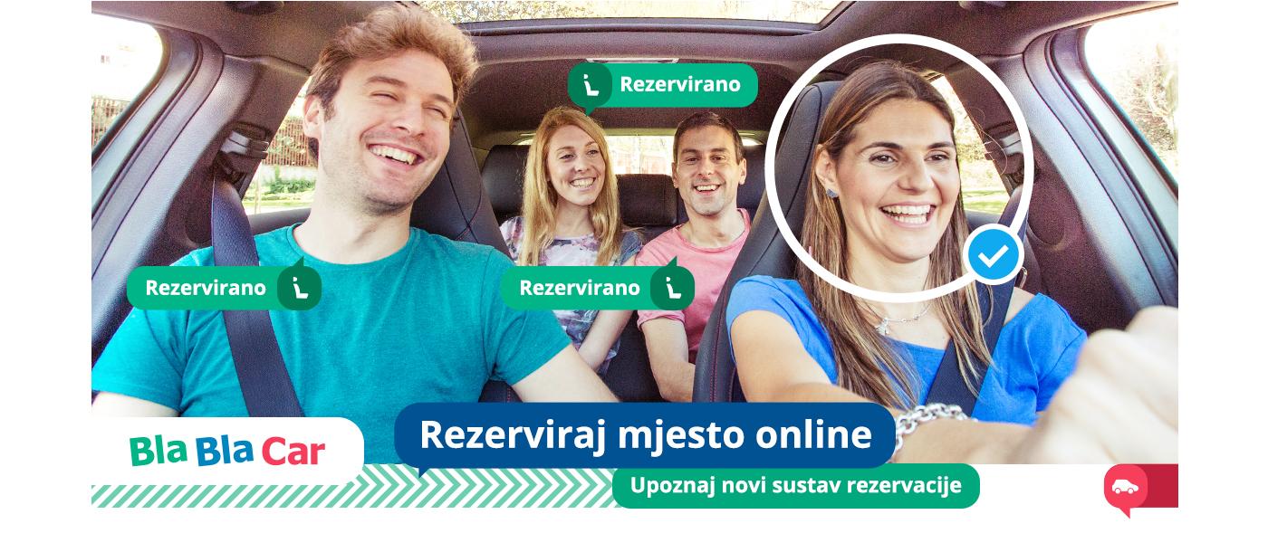BlaBlaCar rezervacije