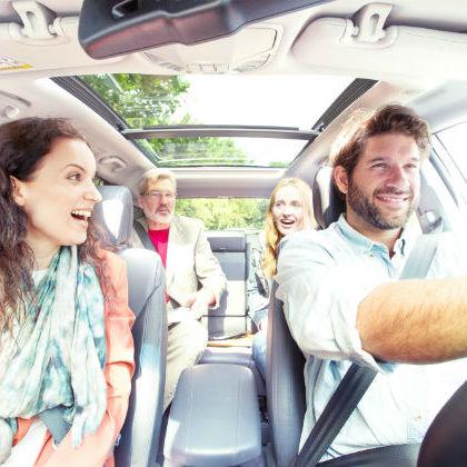 O čem je moderní spolujízda autem?