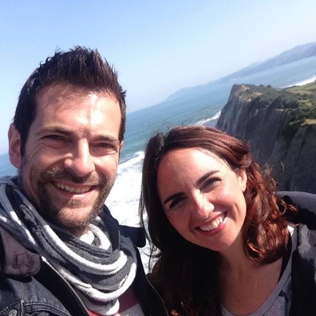 Rober y Sandra, reporteros en «De Euskadiz al mundo»