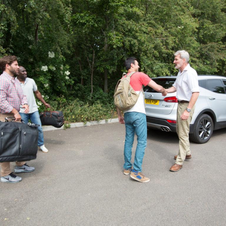 Ridesharing Meeting Points