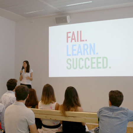 Fail. Learn.<br/>Succeed.